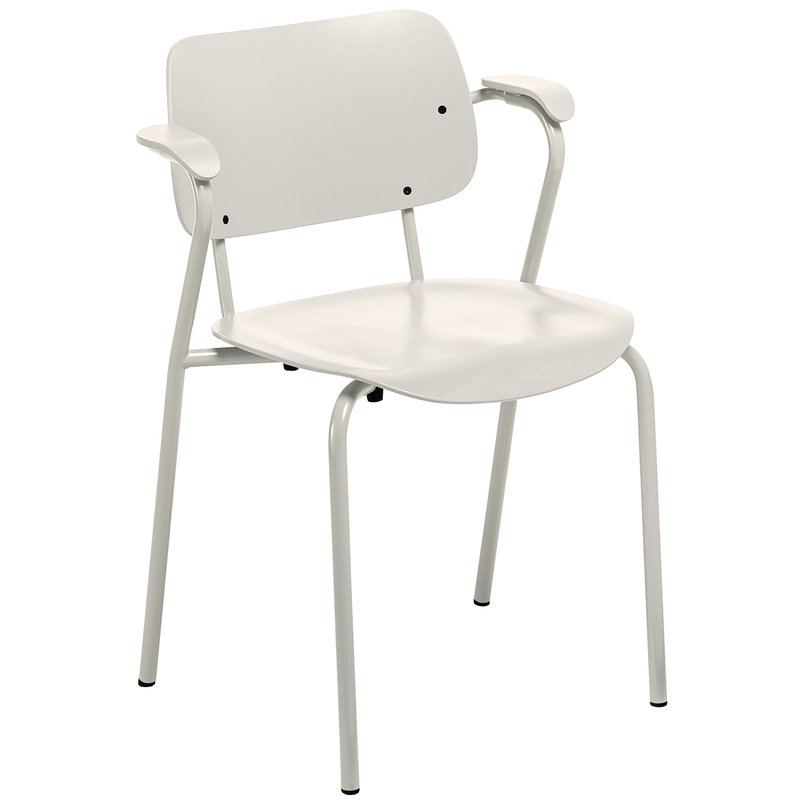 Lukki chair, stone white