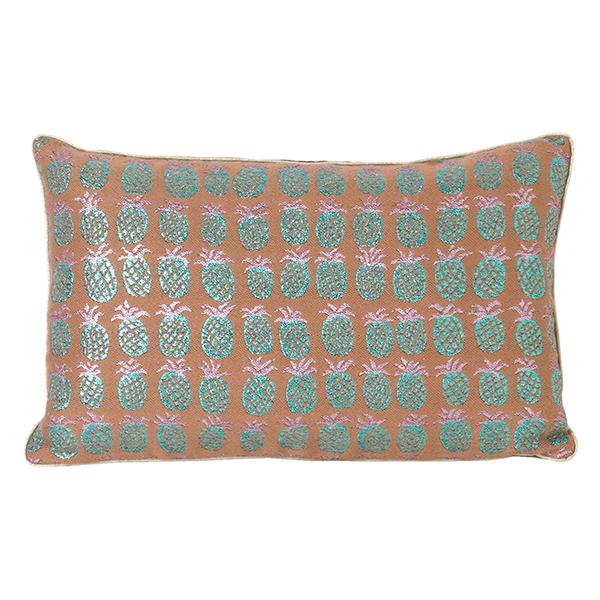 Salon Cushion, 40 X 25 Cm, Pineapple