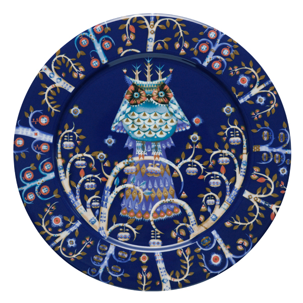 Iittala Piatto Taika 27 cm, blu