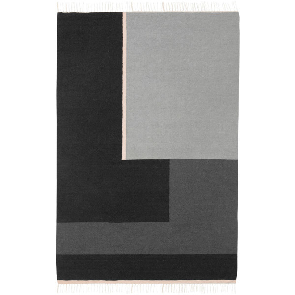 Ferm Living Kelim rug, Sections, large