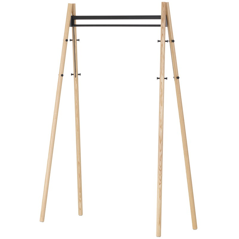 Artek Kiila coat rack, ash - black