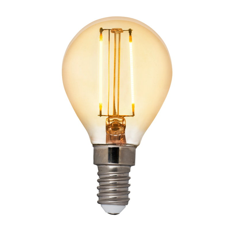 Airam LED Decor Amber compact bulb 5W E14 360lm, dimmable