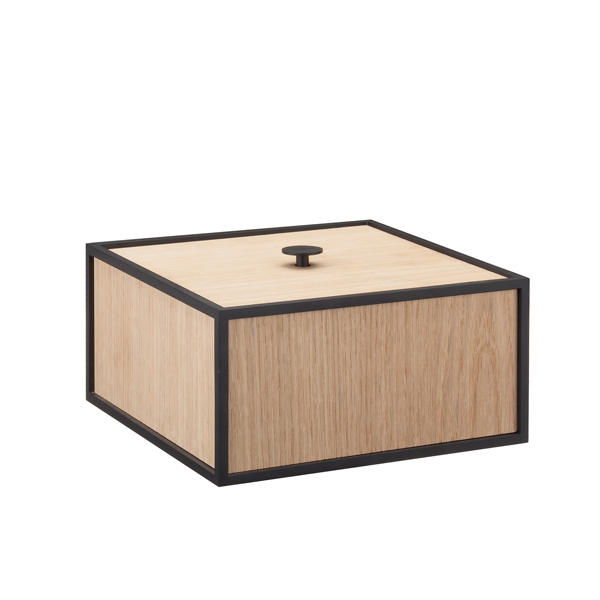 By Lassen Frame 20 box, oak