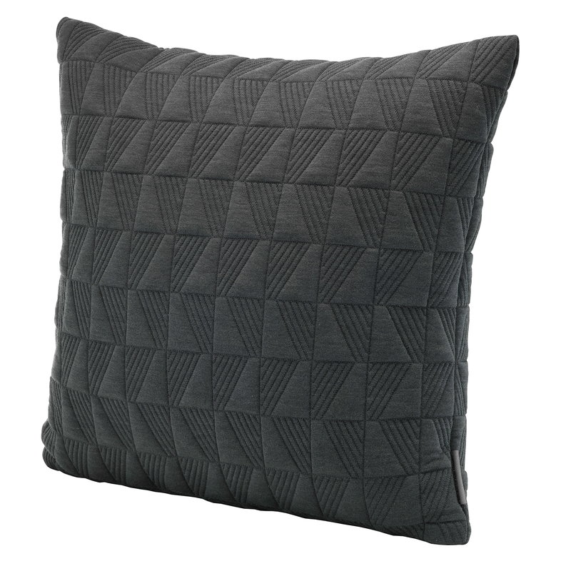 Fritz Hansen AJ Trapez tyyny, 50 x 50 cm, tummanharmaa