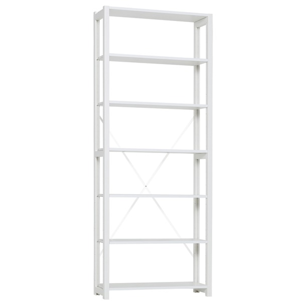 Lundia Classic open shelf, high, white
