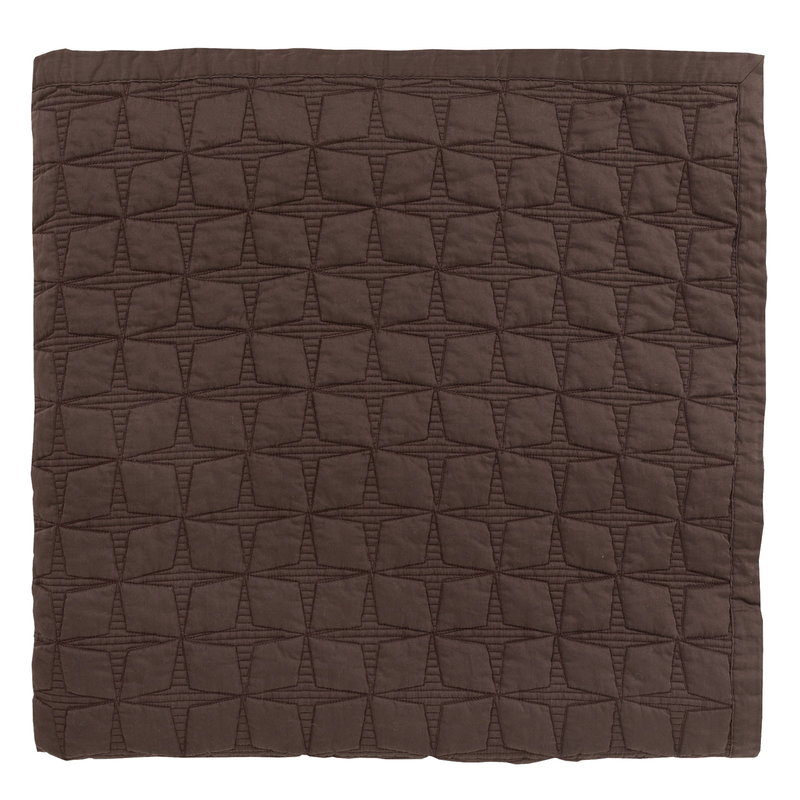 Matri Tuike double bed cover 260 x 260 cm, choco