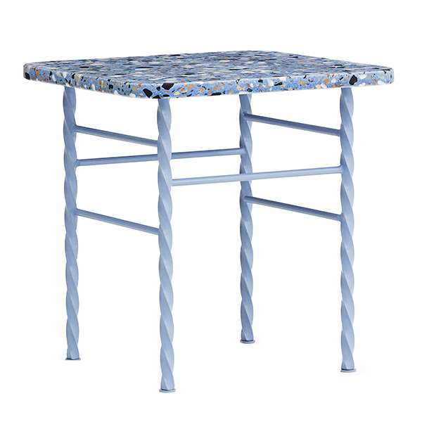 Normann Copenhagen Terra table, small, blue