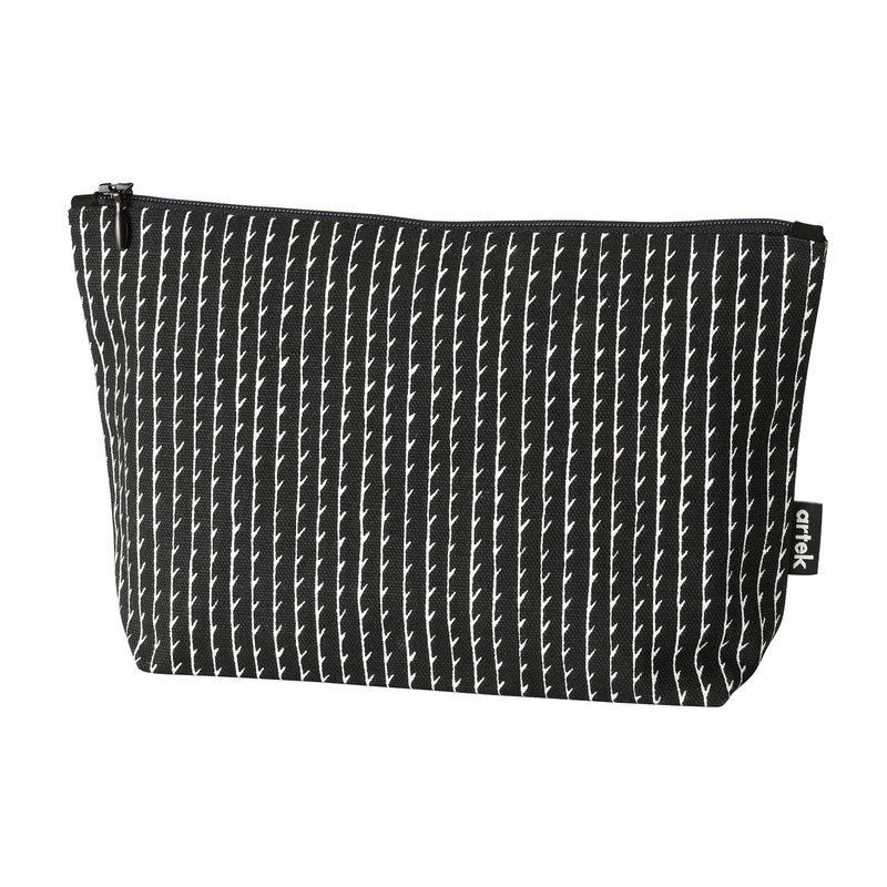 Artek Rivi pouch, small, black-white