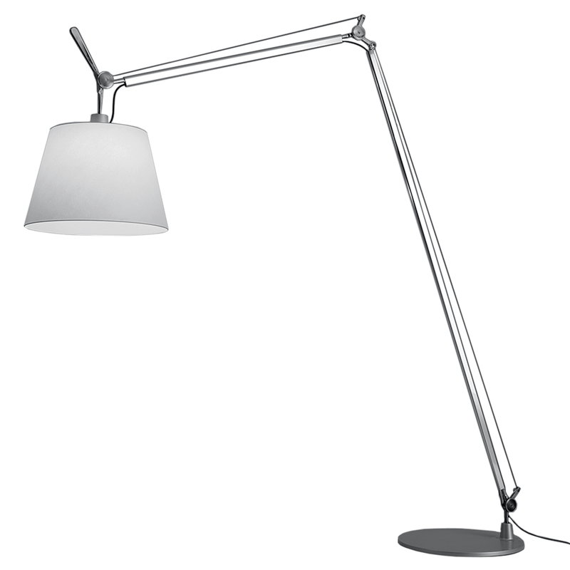 Artemide Tolomeo Maxi floor lamp, aluminium