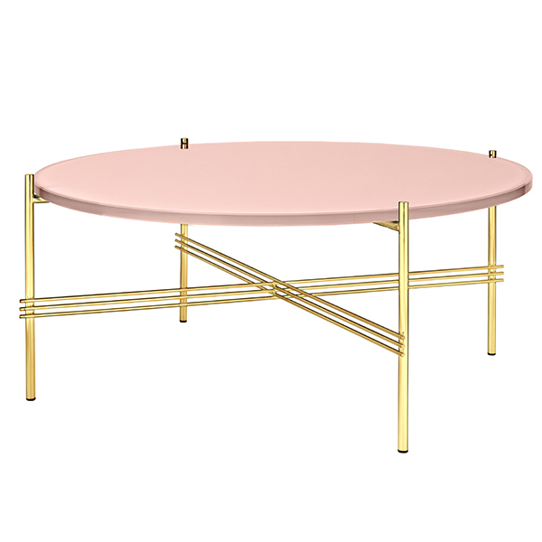 Pink Glass Coffee Table 2
