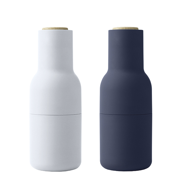 Menu Macinino Bottle, set di 2, classic blue - faggio