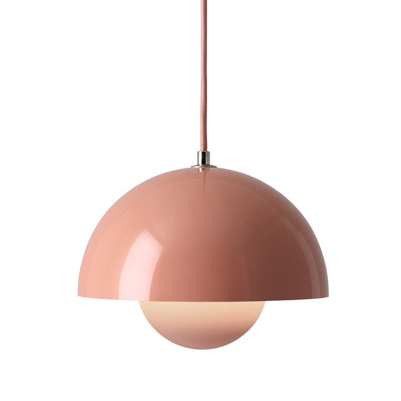 &Tradition Flowerpot VP1 pendant, beige red
