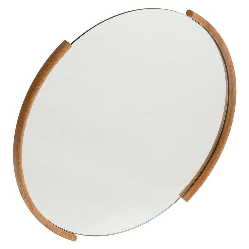 Ariake Split mirror, large, oak