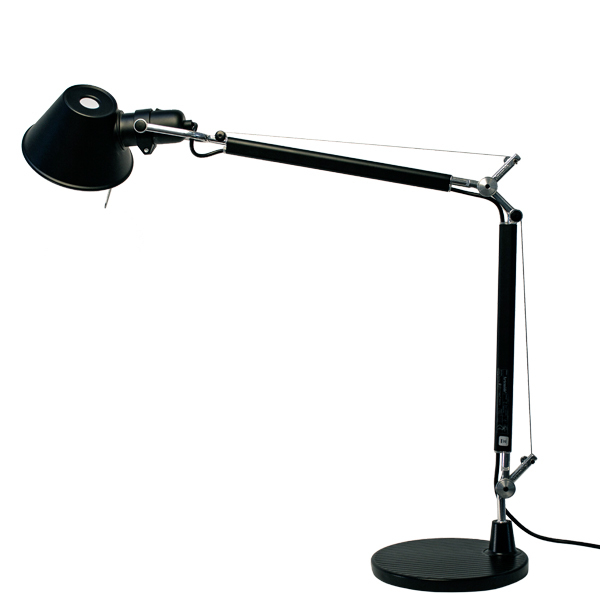 Artemide Tolomeo Mini Table Lamp Black Finnish Design Shop