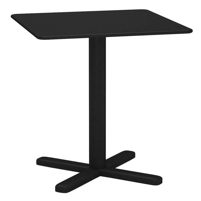 Emu Darwin table 70 x 70 cm, black