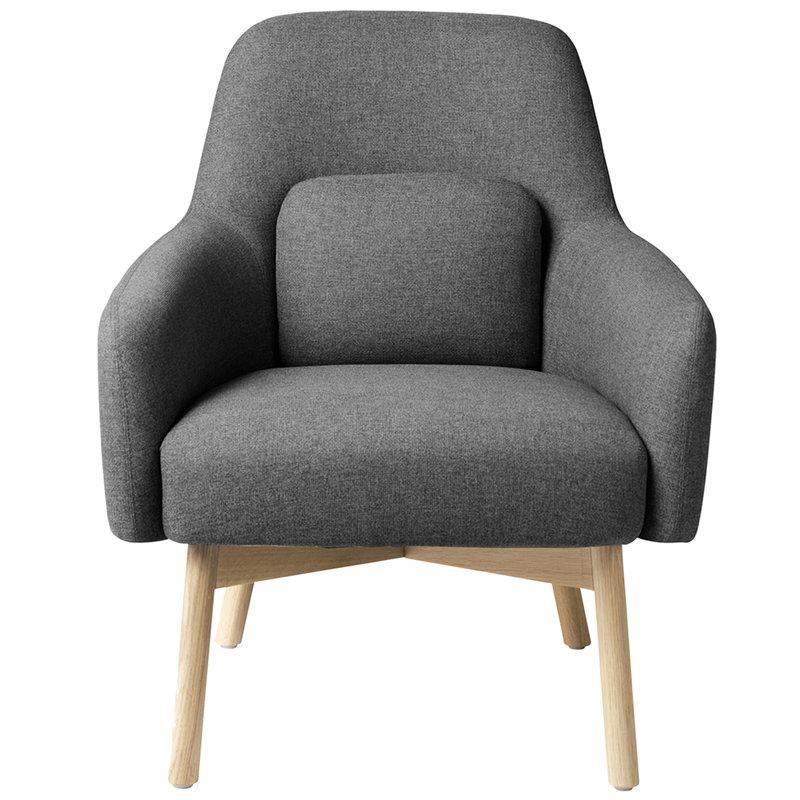 FDB Møbler L33 Gesja armchair, dark grey