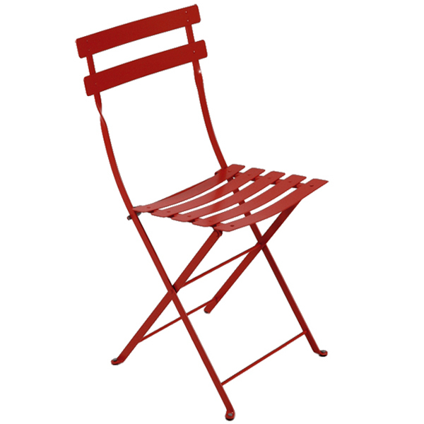 Fermob Bistro Metal chair, chili