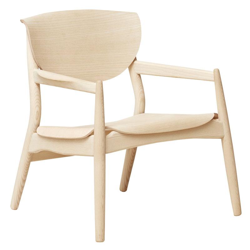 Form & Refine Origin lounge chair, ash