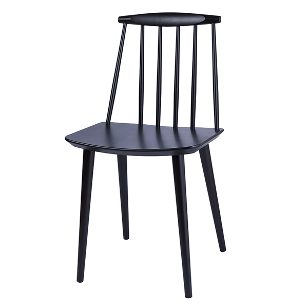 Hay J77 chair, black