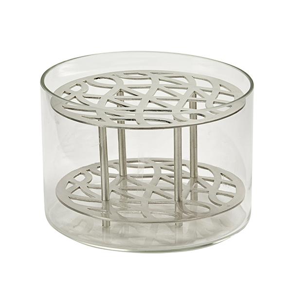 Klong Äng vase, small, silver