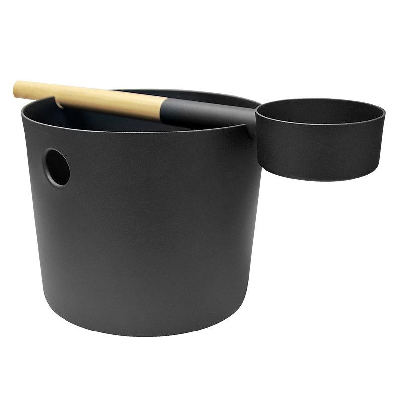 KOLO Bucket and Ladle, black