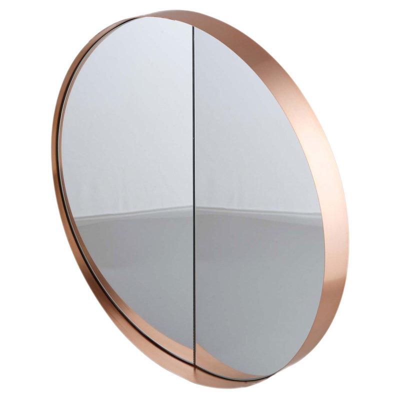 Lokal Helsinki Vino 40 mirror, copper, inward