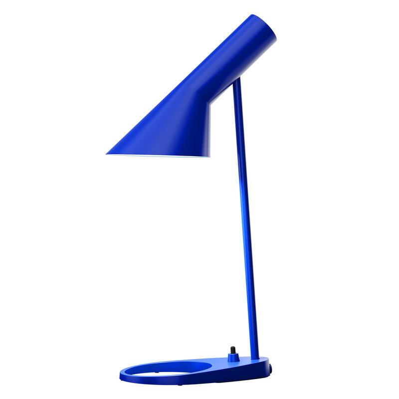 Louis Poulsen AJ pöytävalaisin, ultra blue