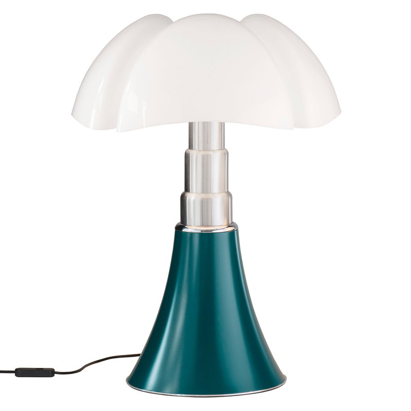 Martinelli Luce Pipistrello Medium table lamp, dimmable, agave green