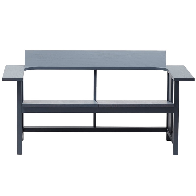 Mattiazzi Clerici 2-seater bench, grey