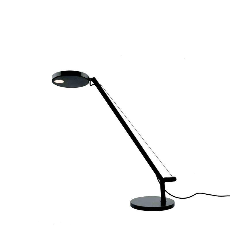 Artemide Lampada da tavolo Demetra Micro, nera