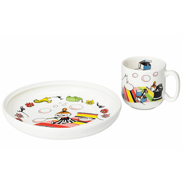 Arabia Moomin children's tableware, Little My