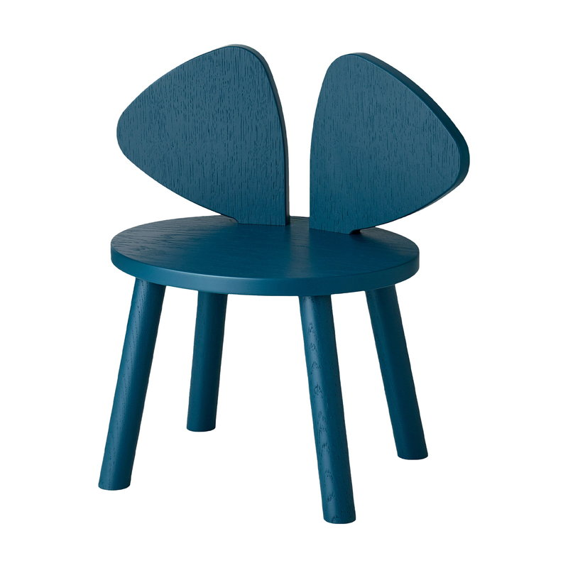 Nofred Mouse children's chair, low, petroleum