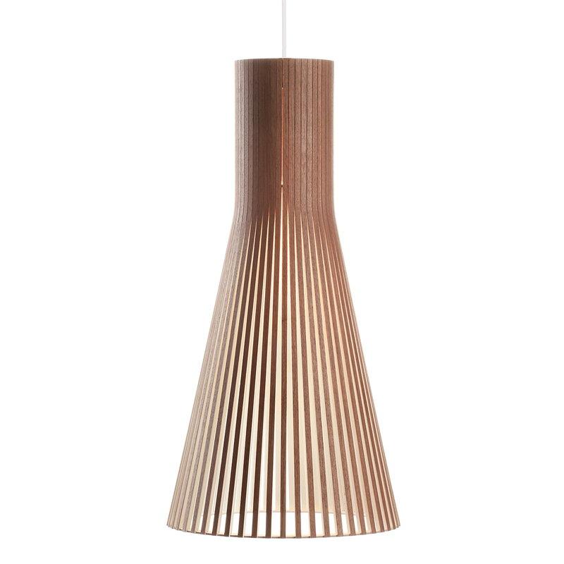 Secto Design Secto 4200 riippuvalaisin 60 cm, pähkinä