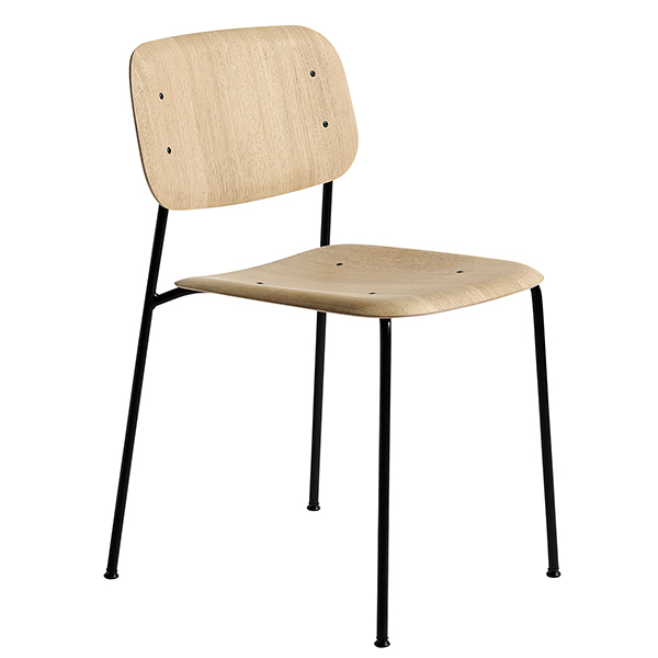 Hay Soft Edge 10 chair, matt laquered oak