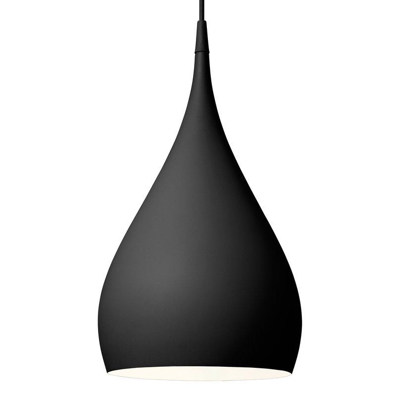 &Tradition Spinning BH1 pendant, matt black