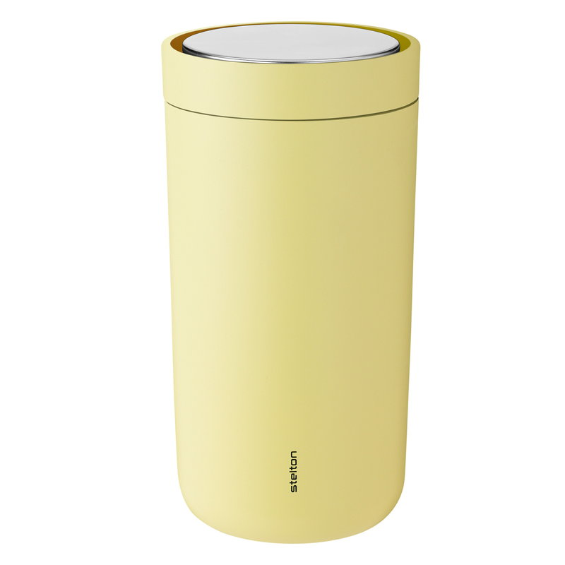 Stelton To Go Click thermo cup, soft yellow