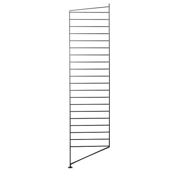 String Pannello da pavimento 115 x 30 cm, 1 pz, nero