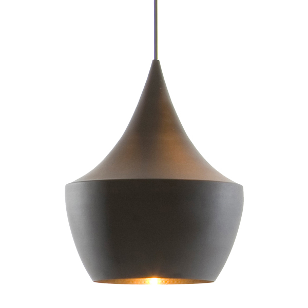 Tom Dixon Beat Light Fat, nera