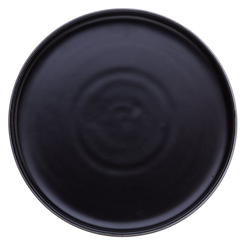 Vaidava Ceramics Eclipse dinner plate 34 cm, black