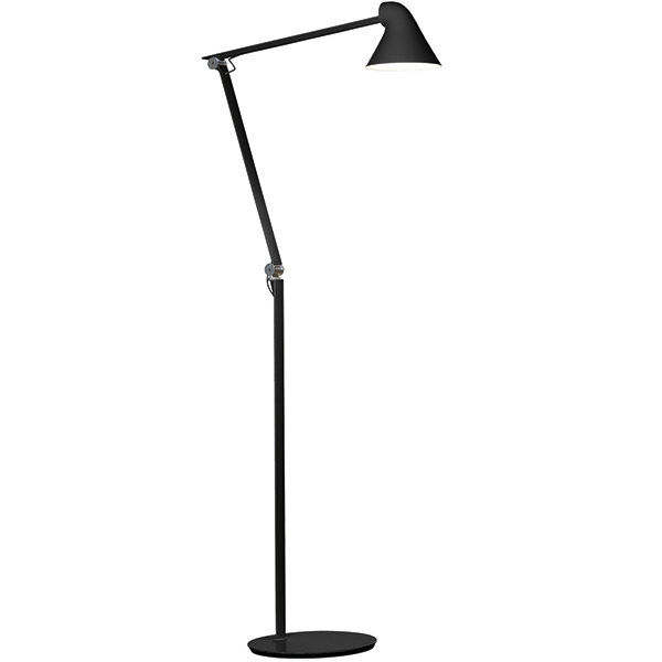 Louis Poulsen NJP floor lamp, black