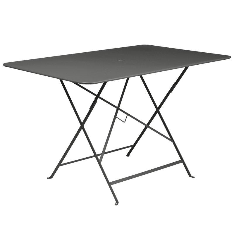 Fermob Bistro pöytä 117 x 77 cm, licquorice