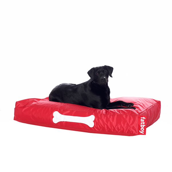 Fatboy Doggielounge dog bed, large, red