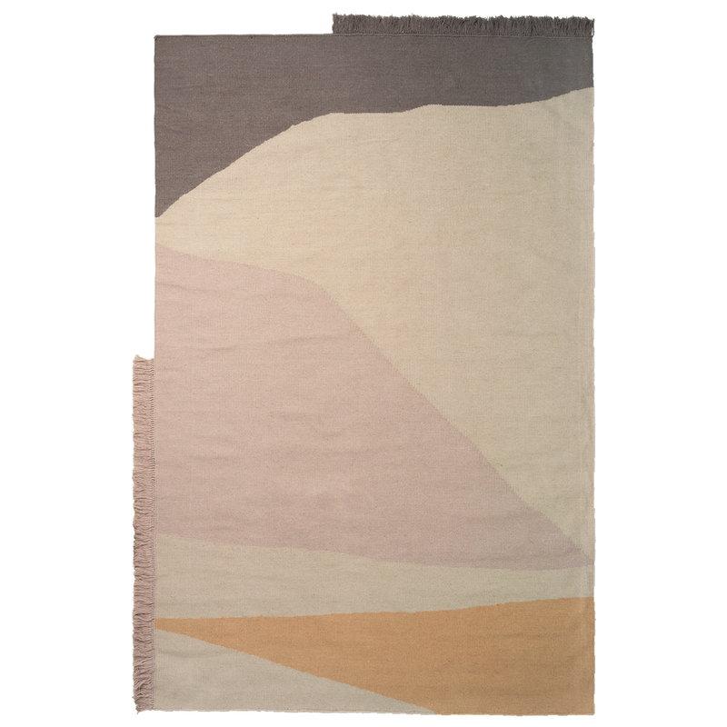 Ferm Living Kelim rug, Earth, 160 x 250 cm