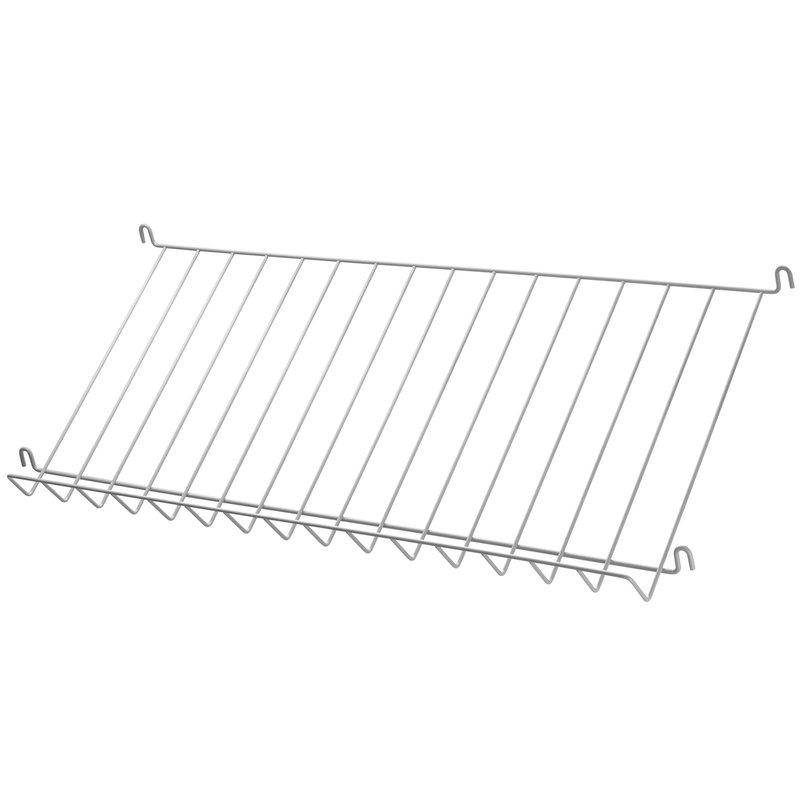 String String magazine shelf, grey steel