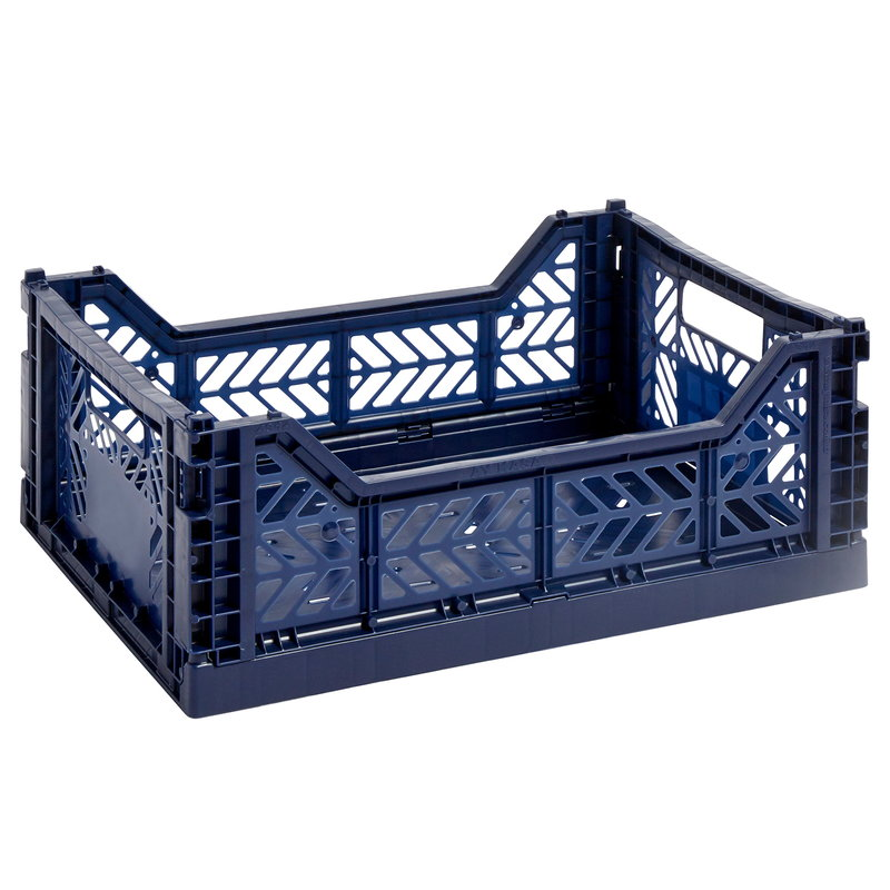 Hay Colour crate, M, navy blue
