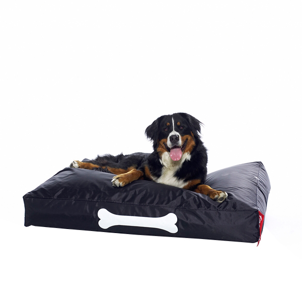Fatboy Doggielounge dog bed, large, black