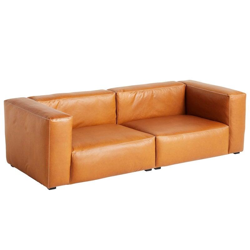 Hay Mags Soft sohva 2,5-ist/228 cm, korkea käsinoja, Silk 0250