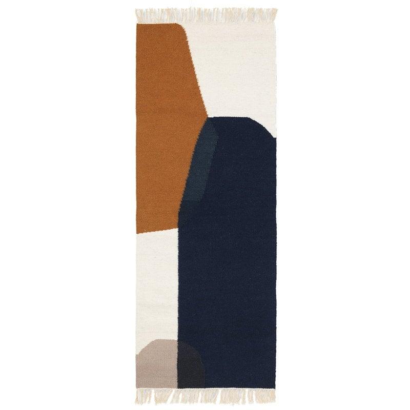 Ferm Living Kelim käytävämatto, Merge, 180 x 70 cm