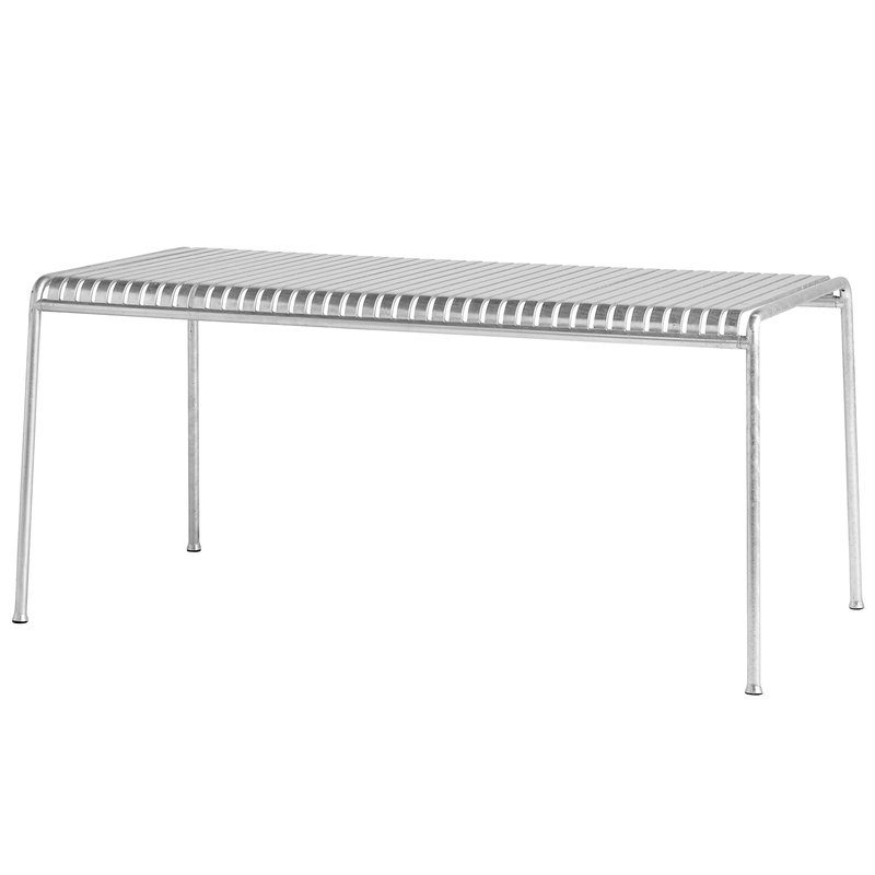 Hay Palissade table 160 x 80 cm, hot galvanised