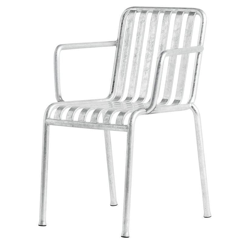 Hay Palissade käsinojallinen tuoli, galvanoitu